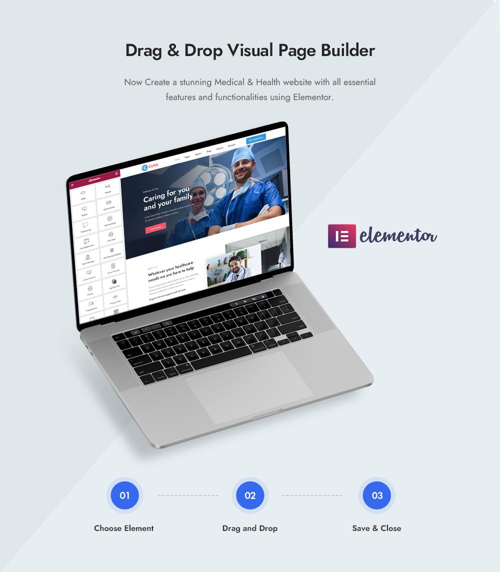 Drag & Drop Visual Page Builder